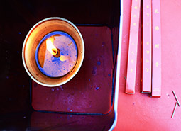 Candle in Lama Temple, Beijing